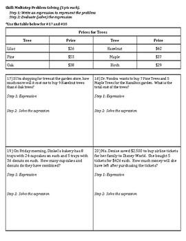 4th Grade Go Math- Chapter 2 Assessment
