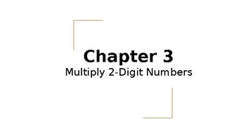 4th Grade Go Math- Chapter 3 Powerpoint