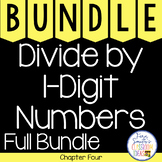 4th Grade Go Math Chapter 4 Divide by 1-Digit Numbers Bundle