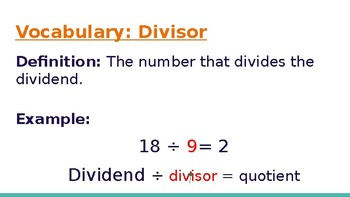 4th Grade Go Math- Chapter 4/Long Division Powerpoint