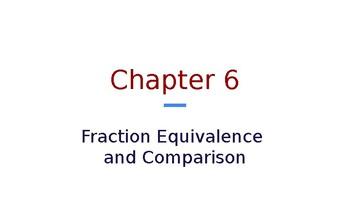 4th Grade Go Math- Chapter 6 Powerpoint