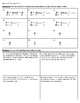 4th Grade Go Math- Chapter 6 Classwork/Homework