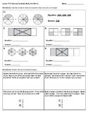 4th Grade Go Math- Chapter 7 Classwork/Homework
