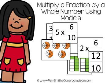 4th Grade Go Math Chapter 8 Factors, Multiples, and Patterns Fractions Bundle