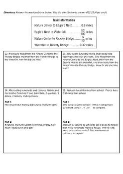 4th Grade Go Math- Chapter 9 Assessment