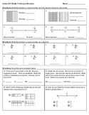 4th Grade Go Math- Chapter 9 Classwork/Homework