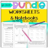 Morning Work BUNDLE!! 4th Grade Morning Work Math & ELA wi