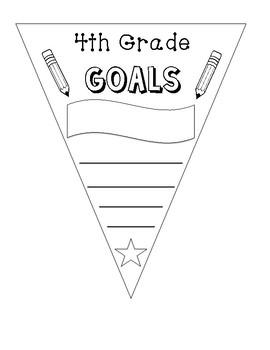 4th Grade Goals Banner