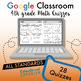 4th Grade Google Classroom Math Bundle, Interactive Digital Math Curriculum, 4th