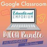4th Grade Google Classroom Math Bundle, Interactive Digita