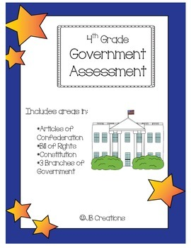 4th Grade Government Assessment