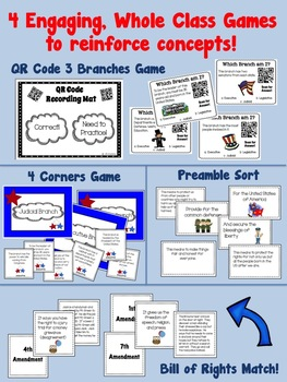 4th Grade Government Bundle of Activities