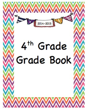 4th Grade - Grade Book (including standards checklists)