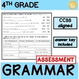 4th Grade Grammar Assessment