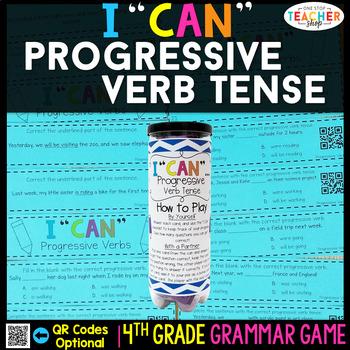4th Grade Grammar Game   Progressive Verb Tenses