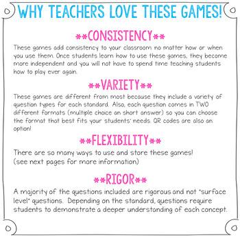 4th Grade Grammar Games | 4th Grade Grammar Practice BUNDLE