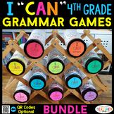 4th Grade Grammar Games   Literacy Centers   Test Prep Review