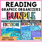 Graphic Organizers Bundle for Reading Comprehension