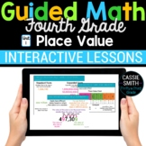 4th Grade Guided Math -Google Classroom Unit 1 Place Value