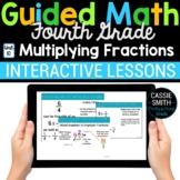 4th Grade Math Multiplying Fractions 4.NF.4 -Google Classroom