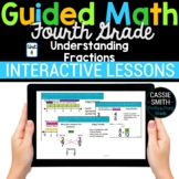 4th Grade Math Understanding Fractions 4.NF.1 4.NF.2 -Goog