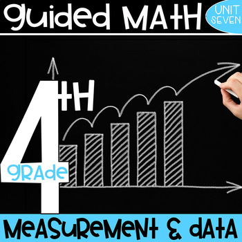 4th Grade Guided Math - Measurement and Data