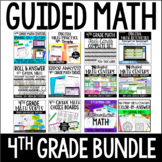 4th Grade Guided Math Centers (Mega Bundle)