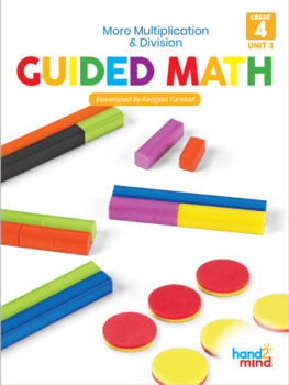 4th Grade Guided Math Multiplication and Division Strategies and Problem Solving
