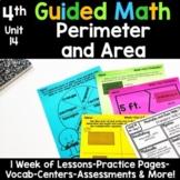 4th Grade Guided Math -Unit 14 Perimeter and Area
