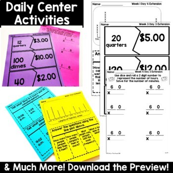 4th Grade Guided Math -Unit 15 Measurement