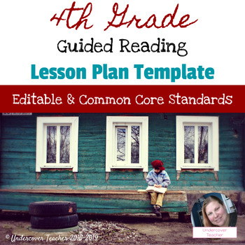 Th Grade Guided Reading Lesson Plan Template Editable Common - Guided reading lesson plan template 4th grade