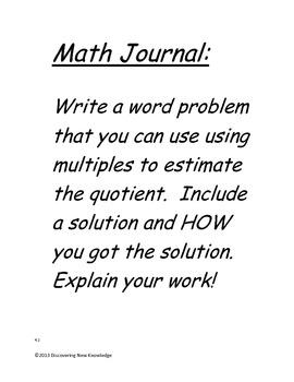Math - 4th Grade HMH Unit 4