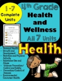 4th Grade Health Unit for the ENTIRE Year!! (Meets Common Core)