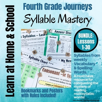 4th Grade - Help! I Can't Read Multisyllabic Words - Journeys