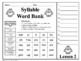 4th Grade - Help! I Can't Read Multisyllabic Words - Journeys