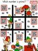 4th Grade Holiday QR Code Printables Sample FREEBIE