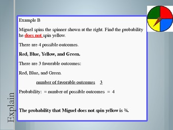 4th Grade Hought-Miff Express Probability of an Event