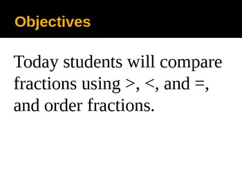 4th Grade Hought-Miff Fractions :Comparing and Ordering less 9-9