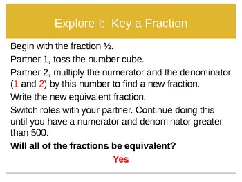 4th Grade Hought-Miff Fractions: Equivalent Fractions