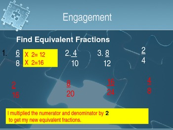 4th Grade Hought-Miff Fractions in the Simplest form
