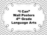 4th Grade I Can Language Arts Posters