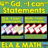 "4th Grade ""I Can"" Statements"