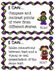 4th Grade I Can Statements ELA & Math- Superhero Themed!