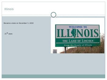 4th Grade Illinois State Information Presentation