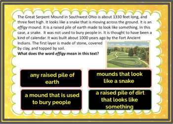 4th Grade Informational Text Boom Cards