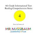 4th Grade Informational Text Reading Comprehension Series