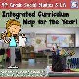 4th Grade Integrated Social Studies and Language Arts Curriculum Map
