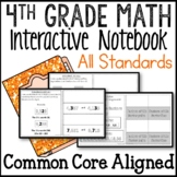 All Standards Interactive Math Notebook 4th Grade Common C