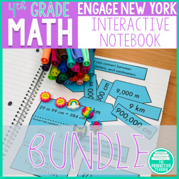 Engage New York Aligned Interactive Notebook: Grade 4, Complete Year Bundle
