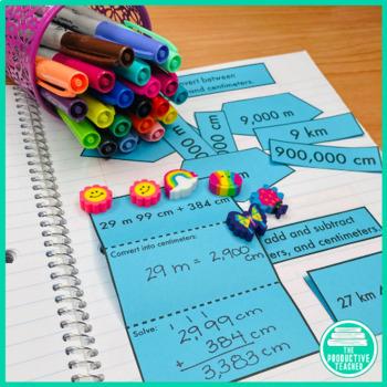 4th Grade Interactive Math Notebook: Engage NY Module 2